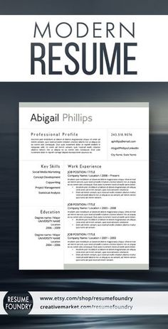 Stand Out With Resume Template Resume Templates Word Cv Template