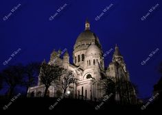 Winter Night at Sacre Coeur, (Sacred Heart) Basilica, Montmartre, Paris, France Streets of Paris Architectural Buildings Original Fine Art Photography Wall Art Photo Print. This photo from my European travels is the beautiful basilica of Sacre Coeur or Sacred Heart in the Montmartre area of Paris. This Roman Catholic church was absolutely beauitiful! Beautiful, unique and all original, prints by Joan Wilcox- Glanville. Each print comes in a clear resealable archive bag ready for framing…