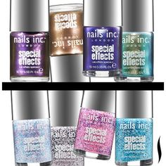 For metallic-cool or cupcake-sweet nails, try these new polishes. #Sephora
