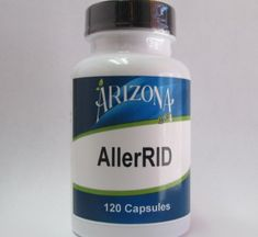 AllerRID - 120 Capsules A unique blend of vitamins, Propolis, bioflavonoids, and herbs.  The ingredients in this product have been known to alleviate the symptoms of seasonal allergies.