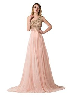 Ikerenwedding Women's Crystal Beads Tulle Evening Gown One-Shoulder Prom Dresses Pin US16 Ikerenwedding http://www.amazon.com/dp/B01DENE6RM/ref=cm_sw_r_pi_dp_f2m9wb1JFNKK3