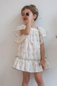 Girl summer dress/Children Clothes/Toddler Dress/Size 5T,8,Dress girl, Classic, dress occasion girl, tie back