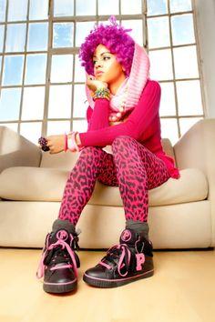 Pink Natural Hair- Naturally Me! Color Series