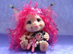 "Polymer clay Fairy ""Summer"""