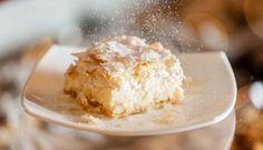 Torta al cocco e cioccolato bianco Coco, Dairy, Ice Cream, Pudding, Sweets, Cheese, Eat, Cooking, Desserts