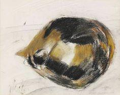 Tortoiseshell    Cat              1981              Elizabeth    BLACKADDER Scottish,          mixed      media