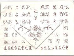 Mi Tetera Mágica: Letras para bordar