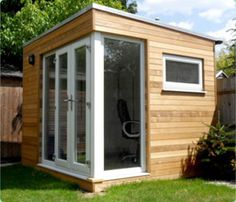 sunny, small office - idea for the old shed?
