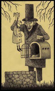 Illustration by John Kenn aka Don Kenn Monster Drawing, Monster Art, Arte Horror, Horror Art, Dark Fantasy Art, Creepy Drawings, Art Drawings, Don Kenn, Art Sinistre