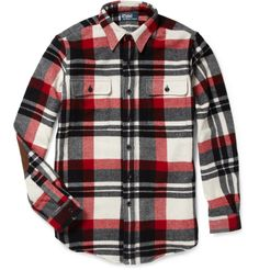 Polo- Ralph Lauren WOOL AND SUEDE CHECKED SHIRT - a little pricey (695!) but like it just the same :)