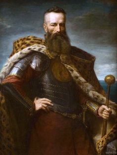 Hetman Stefan Czarnecki, 19th century painter's rendering.