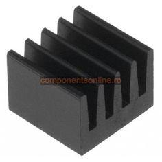 Radiator DIL-IC, PLCC, SMD, 8x8x6mm, Fischer Elektronik - 006188