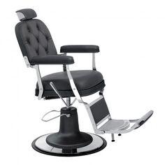 Fauteuil barbier Zerbini capitonné
