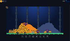 Minions within a Dungeon - MUCH TREASURE! - http://minions-dungeon.com - #gamedev #indiegame #gamedevelopment #gamedesign #MwaDungeon