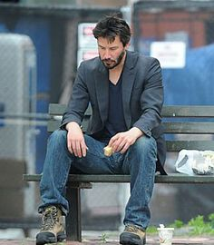 Sad Keanu realizes he's not me