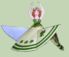 st patricks day printables, this is a flying fairy...