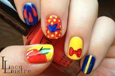 LacqLustre: Snow White  #nail #nails #nailart
