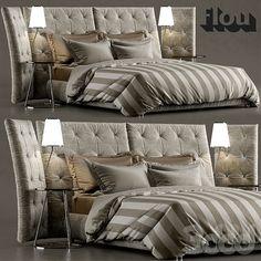 Кровать ANGLE flou