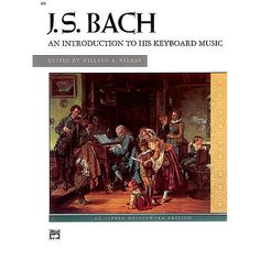 Bach An Introduction to his Keyboard Music Book / CD. 27 selections of Bach's keyboard works. $18.00