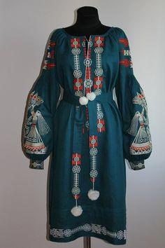 Embroidered Boho Chic Clothing Ukrainian Embroidery Dress Ukrainian Clothing Modern