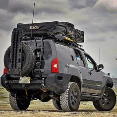 If this is a rooftop carrier great so kayak loads inside this is what I use, if it& a tent still good for inside load on yak . Nissan Xterra, Nissan 4x4, Nissan Trucks, Nissan Pathfinder, 4x4 Off Road, Offroad, Navara D40, Suv Camper, Montero Sport