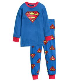 H & M Superman PJs -