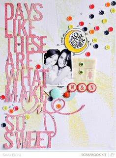 #papercraft #scrapbook #layout Sasha Farina