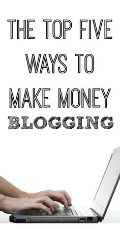 The Top Five Ways To Make Money Blogging » Ancestral Nutrition