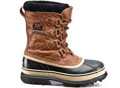 Ostrich skin sorel boots