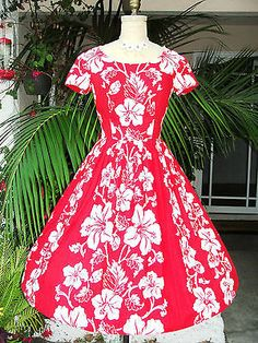Red dress ball hawaii