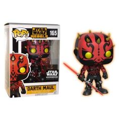 Funko POP Star Wars Rebels: Darth Maul #165 Smuggler's Bounty Exclusive