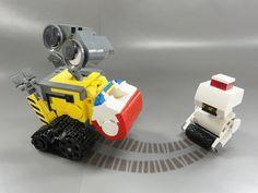 LEGO Wall-e 03+ by LEGO suzuki, via Flickr