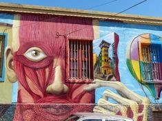 Valparaiso Street Art Tour - La Bicicleta Verde