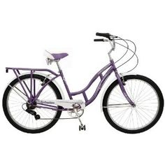 Purple bike! One of the times where I wish I was close enough to campus to ride around.