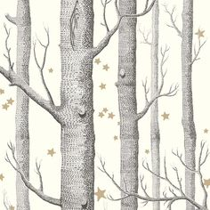 Papier peint Woods | Woods, Wall papers and Living rooms