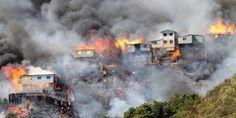 Se organiza la ayuda obrera, estudiantil y popular con damnificados del incendio en Valparaíso.