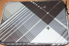 "Hurley 14"" Nuclear Laptop Black Gray Sleeve Laptop School Supplies 15x10 5""   eBay"