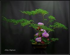 """""""Approach what you find repulsive, help the ones you think you cannot help, and go to places that scare you."""" Machig Labdron [Ikebana by Clayton Segawa]"""