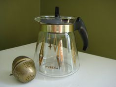 Vintage Pyrex Carafe 2 Cup Server by KampyVintage on Etsy, $6.00
