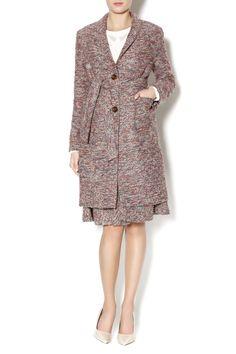 Tweed Long Jacket