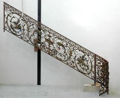 Exceptional banister from the Napoleon III period