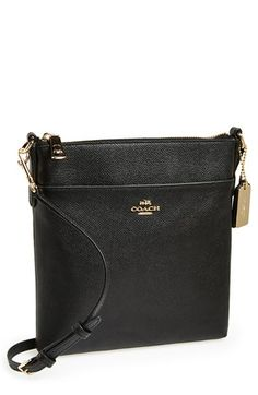 COACH Leather Crossbody Bag | Nordstrom