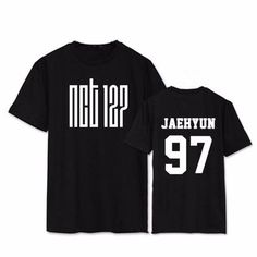NCT 127 Logo Korean Group Vocalist Jaehyun 97 Fashion Simple Design T-shirt  #NCT #127 #Logo #Korean #Group #Vocalist #Jaehyun #97 #Fashion #Simple #Design #T-shirt #Kidolstuff