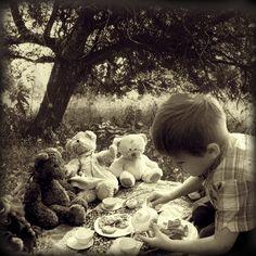 Oh, a teddy bear picnic!