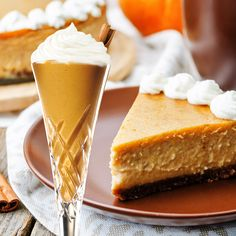 PROTEIN SHAKE: Pumpkin Cheesecake  Nutrition Info   26g Protein • 5g Carbs • 4g Fat • 159 Calories • SmartPoints: 3   Fall in love all over again with our Pumpkin Spice protein powder.  Create this creamy, low-carb Pumpkin Spice Cheesecake shake today!     What you'll need:  • 1 scoop Protein Milkshake Pumpkin Pie Protein Powder  • 1 cup nut milk  • 1 tablespoon Greek or coconut yogurt  • 1/2 teaspoon pumpkin pie spice or cinnamon  • 1/2 cup ice  Blend and enjoy!