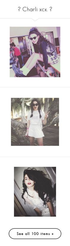 """""""▬ Charli xcx. ▬"""" by disney-clipper ❤ liked on Polyvore featuring charli xcx, charlie xcx and pictures"""