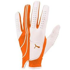 Puma Golf Mens Formation Performance Gloves 2014 Mens LH Orange Medium Mens LH Orange Medium