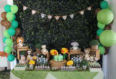 Festa Safari/Mesa decorada