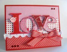 homemade valentine cards   Valentines Day Handmade Card   Homemade cards