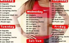 2 week workout plan at home to lose belly fat You don't need a gym to get fit! Every workout in this 2 week workout plan, from strength training t – 30 Days Workout Challenge 2 Week Workout Plan, Weekly Workout Plans, At Home Workout Plan, At Home Workouts, Lower Belly Fat, Lose Belly, Flat Belly, Flat Stomach, Belly Fat Workout